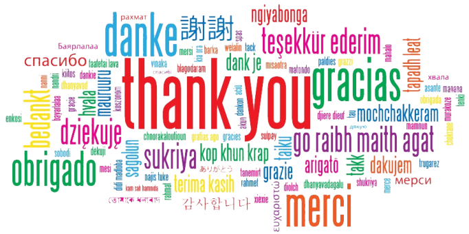 Thank-You-message